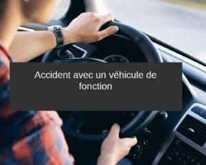 accident vehicule de fonction