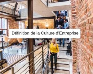 definition culture d entreprise