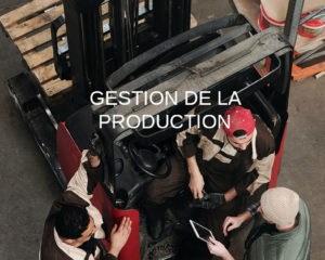 gestion de la production definition