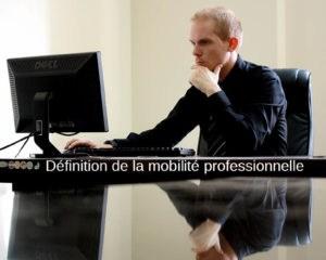 mobilite professionnelle definition