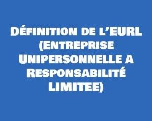 definition eurl