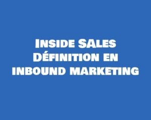 inside sales dedinition marketing