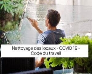 nettoyage des locaux covid 19