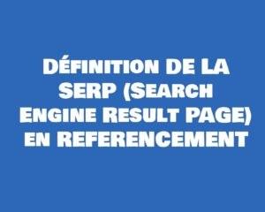 serp definition